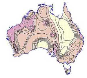 Seismic fault lines throughout Australia.Our continent is not as secure and geologically stable as we have been led to believe.