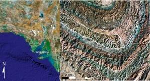Flinders Reef area across the Flinders Ranges SA