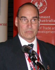 Mayor Steve Baines of Coober Pedy