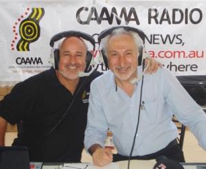 CAAMA Radio's G-Man interviews Yanni Athanasiadis of Coober Pedy