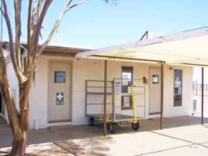 Coober Pedy Airport Luggage Office