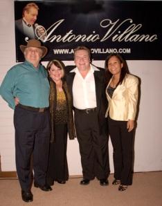 Joe and Elsie Cabonara with Kate and Antonio (centre)