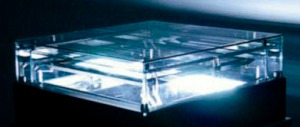 Cloud Chamber filled with radioactive particles