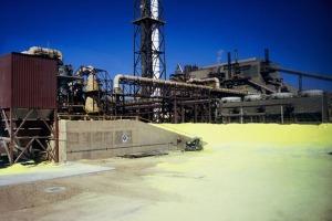 BHP Billiton Factory at Olympic Dam Mine Roxby Downs
