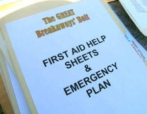 Emergency Plan, event management plans and risk assessments all in place on the day