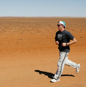 Grant Maxwell ran 35km and was the First Runner in
