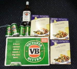 Alcohol seized and destroyed by police suspected of travelling to APY Lands