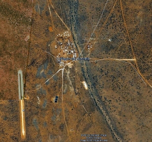 Kaltjiti/Fregon Community on APY Lands - Google Earth Image