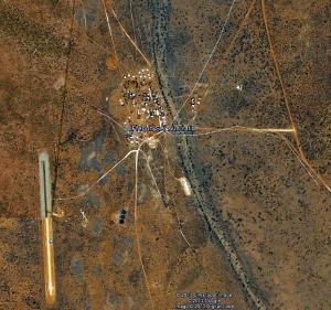 Kaltjiti/Fregon Community on APY Lands - Google Earth Image
