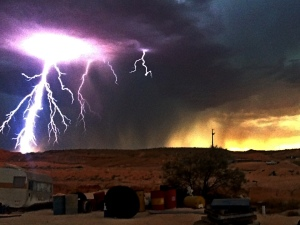 Weather Photo: Chantelle Van Poorten Coober Pedy
