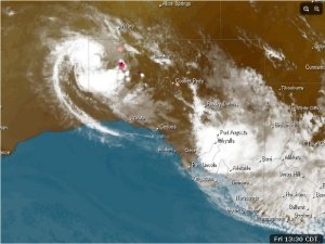 South Australia's Satellite image Friday 14 February 2014