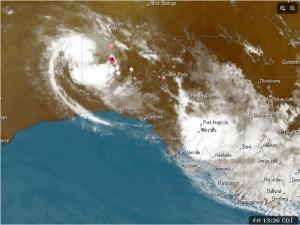 South Australia's Satellite image Friday 14 February 2014