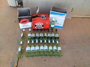 Alcohol intercepted near Coober Pedy, allegedly en-route to Indulkana