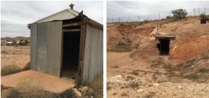 First Police Lockup at Coober Pedy