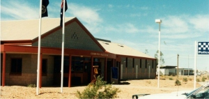 Current station on Malliotis Blvd, Coober Pedy (opened 1996).