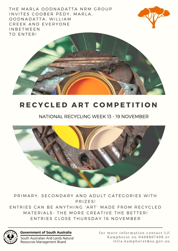 Recycling week art competition