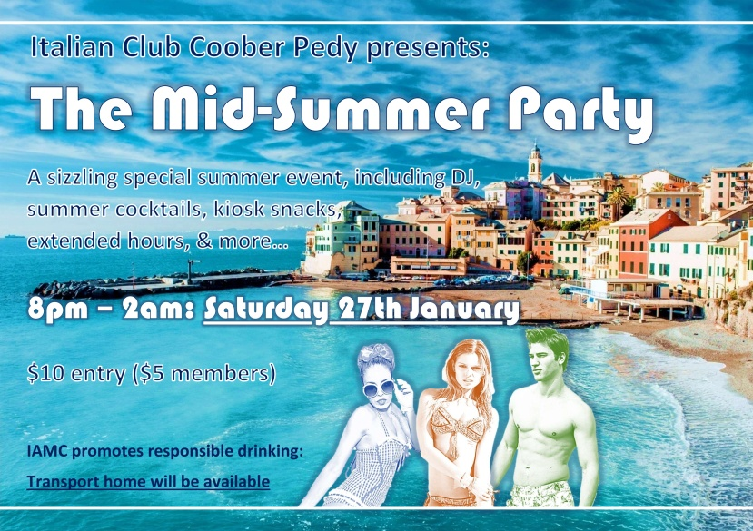 Poster Summer Party